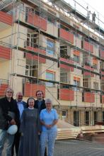 Umfangreiche Sanierungsarbeiten im Altenpflegeheim St. Paulus